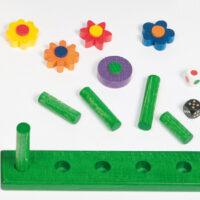 jeu jardin de fleurs