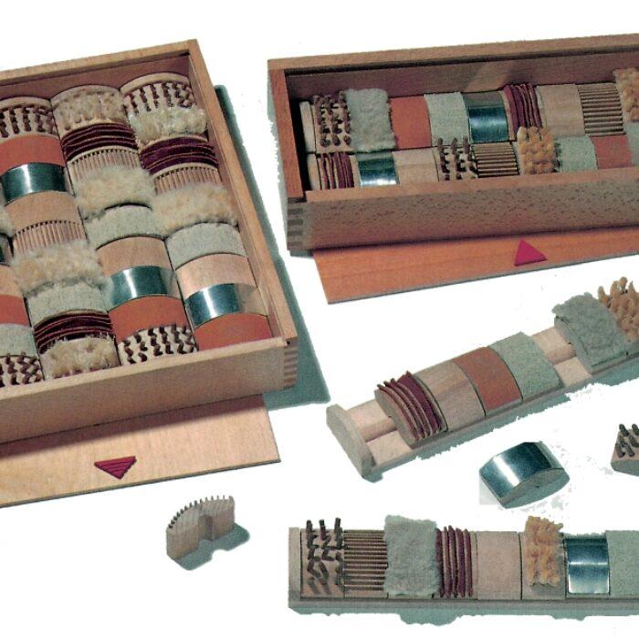 jeux Rouleaux tactiles x 4