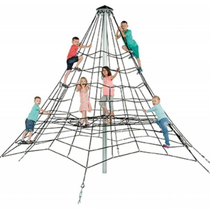 Pyramide de cordes