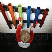 Percutions tubes musicothérapie