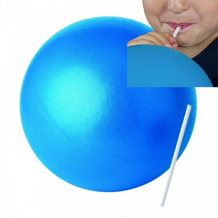 ballon paille over ball