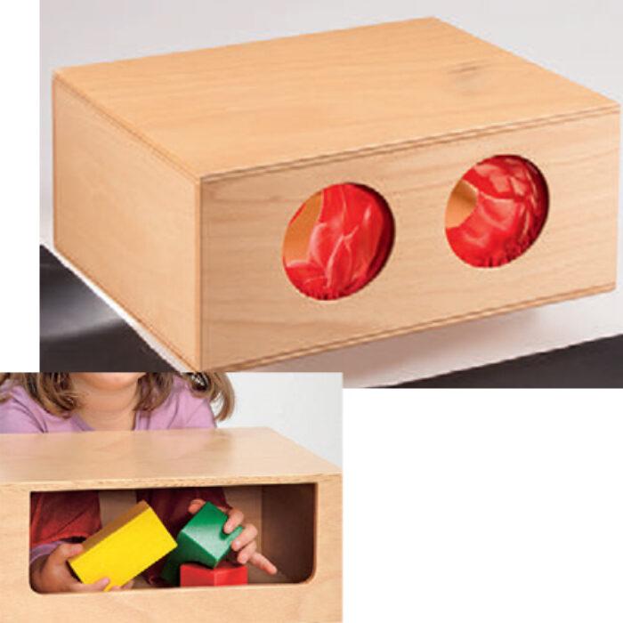 Boite tactile feel box