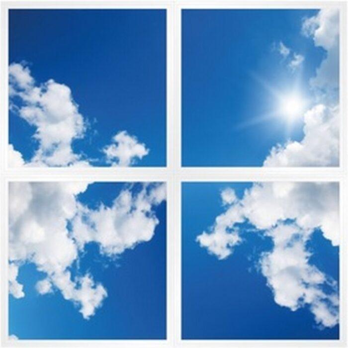 Dalles ciel lumineuses