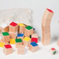 cubes tour d'équilibre