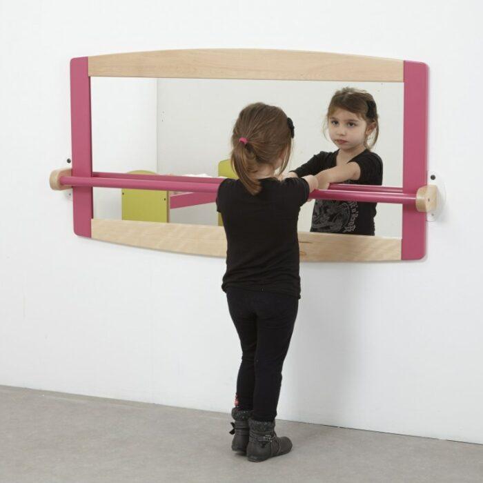 Miroir barre